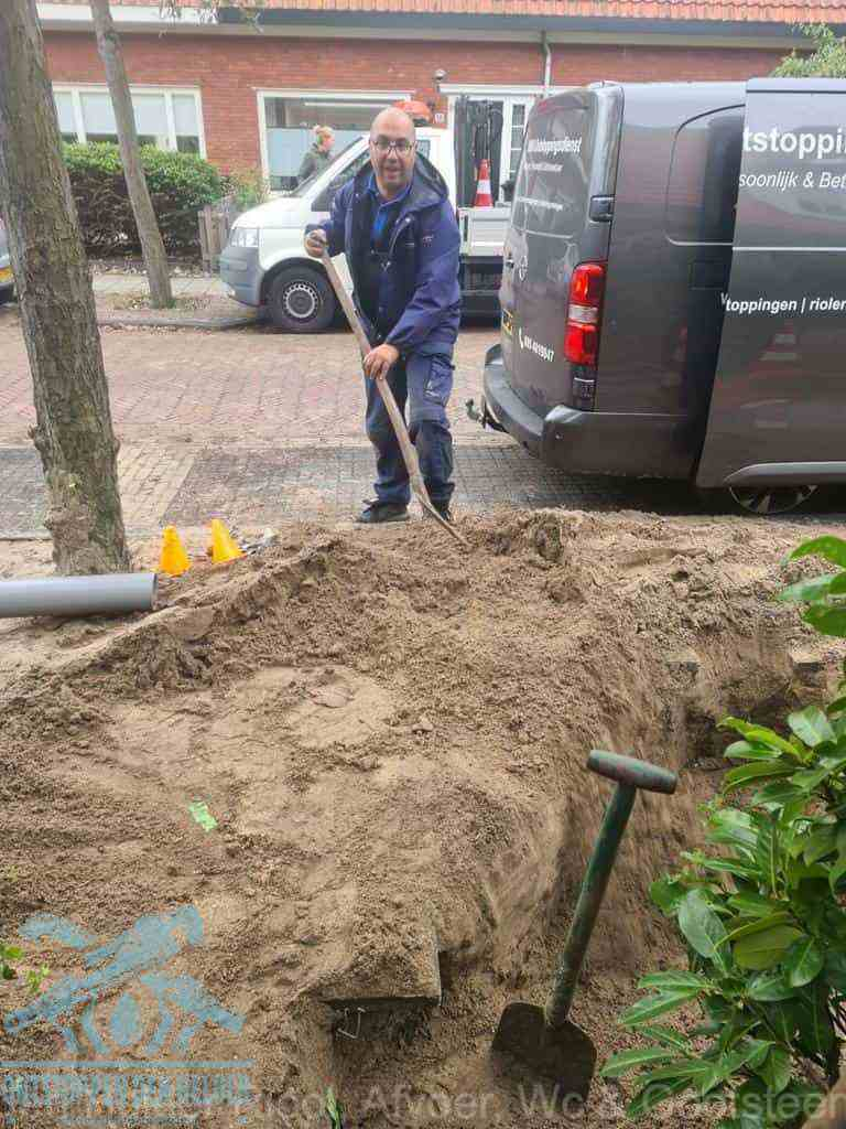 Riool ontstoppen Den Helder graven